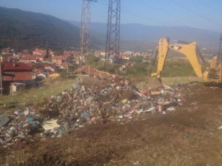Cleaning campaign in Bratsigovo